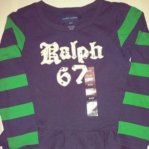 Girl's Polo by Ralph Lauren top